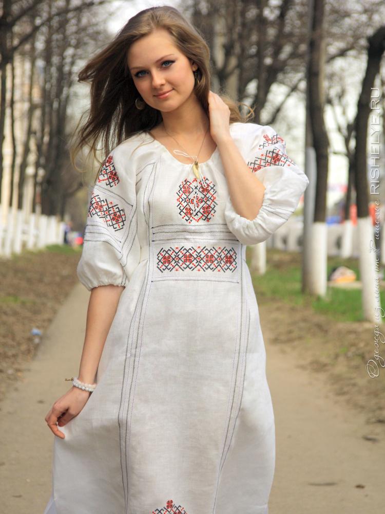 Красивые Русские Платья